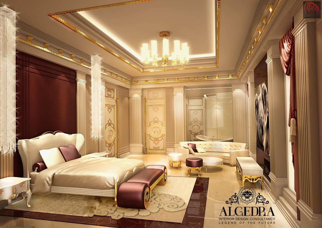 Best Algedra Interior Design Dubai Luxurious Bedrooms 400 x 300