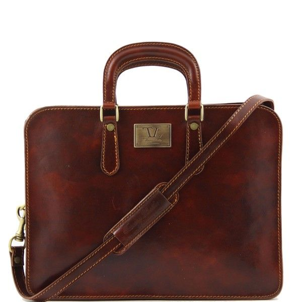 e3144080440 Tuscany Leather Alba - Leather women briefcase   ♥ What to wear ...