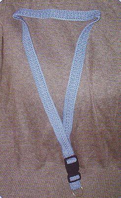 Crochet Pattern Seperating Lanyard For Id Or Keys