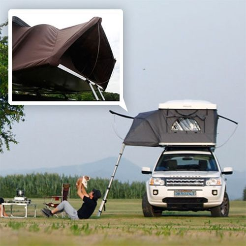 IK&er Hardtop One -  The Worldu0027s First Expandable Hard-Shell Roof Top Tent   & IKamper Hardtop One -