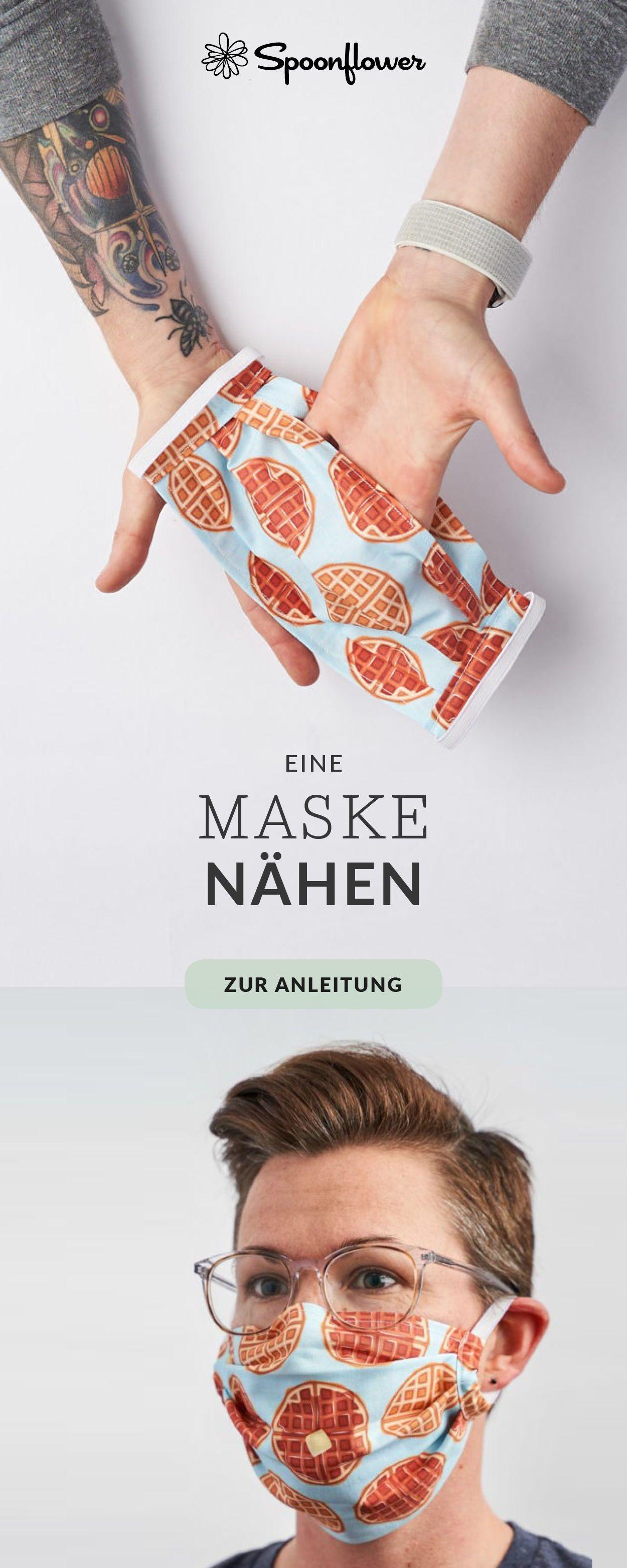 Anleitung: Eine Maske nähen | Spoonflower Blog