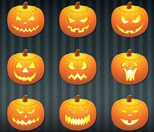 patrones para hacer calabazas de halloween - Buscar con Google ...