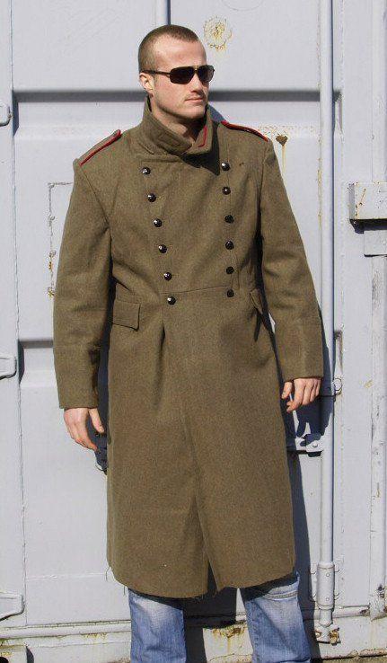 ee072313d6 Bulgarian Military Khaki Wool Greatcoat – Soviet era in 2019 | Syne ...