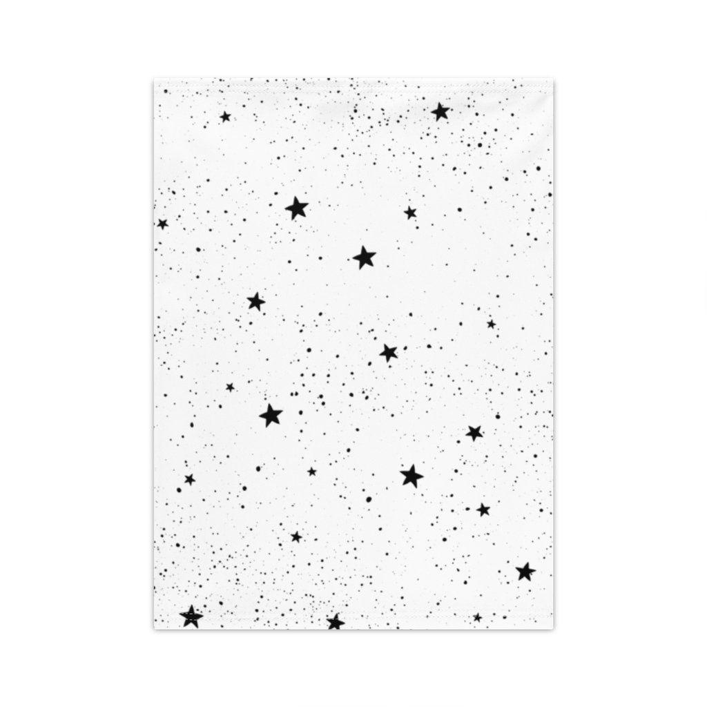 Stars Neck Gaiter White - One size