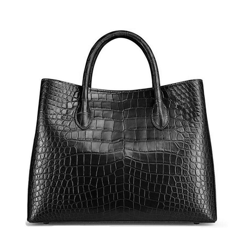 4e4e6558e4 Women s Alligator Leather Handbag Tote Shoulder Bag Crossbody Purse ...