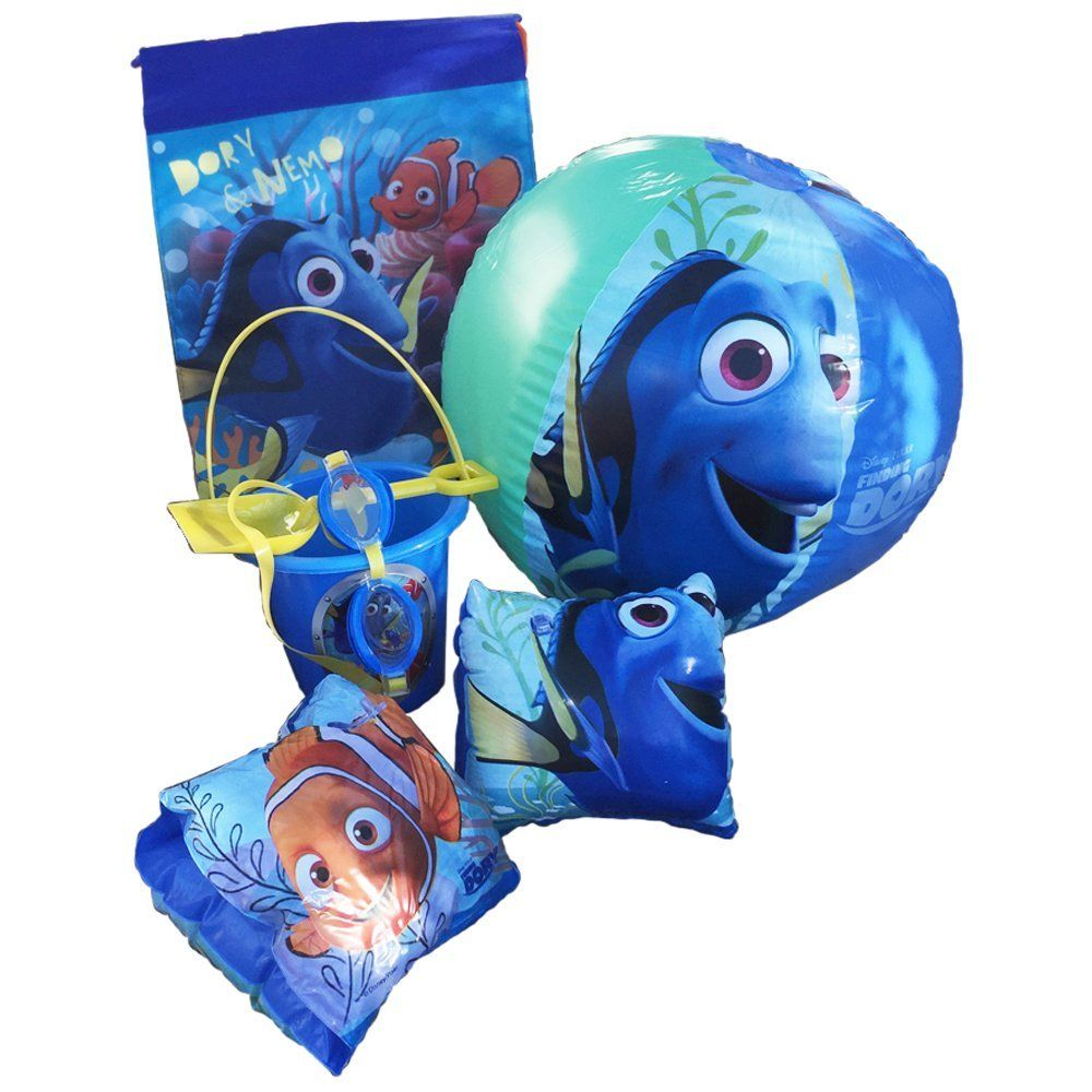 5640a11ca997 Disney Pixar Finding Nemo-Dory Ultimate Beach Gift Bundle -Beach Pail