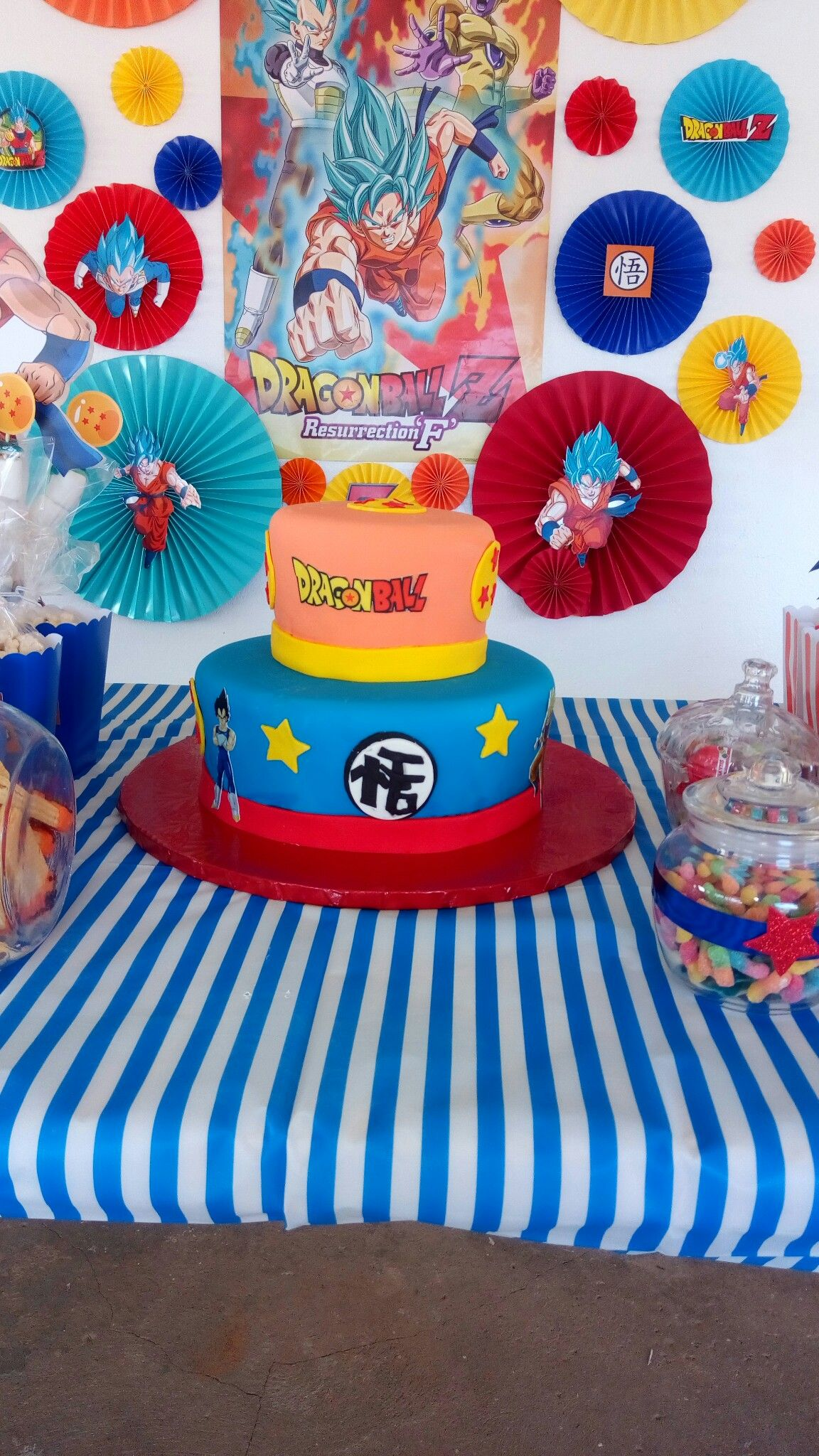 Dragon Ball Z Party Ideas