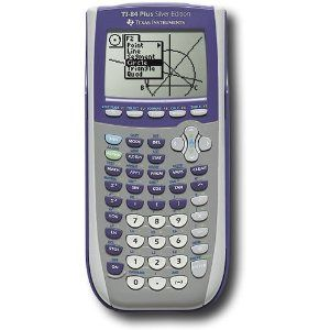 Texas Instruments TI84 Plus Silver Edition Graphing