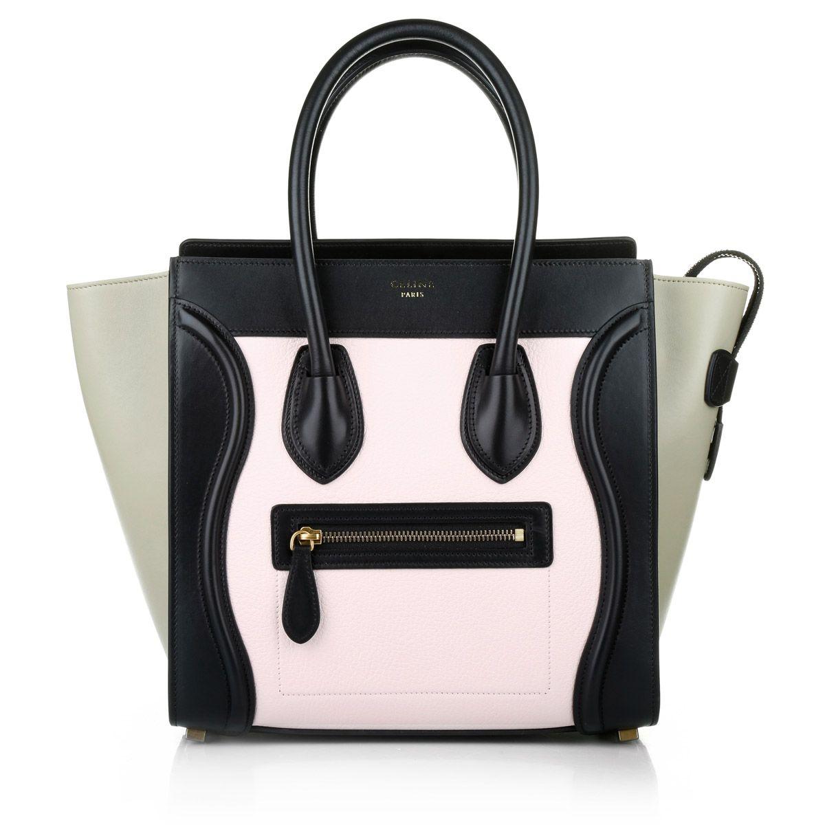 Celine Micro Luggage Handbag Light Rose Cèline Bag bei Fashionette