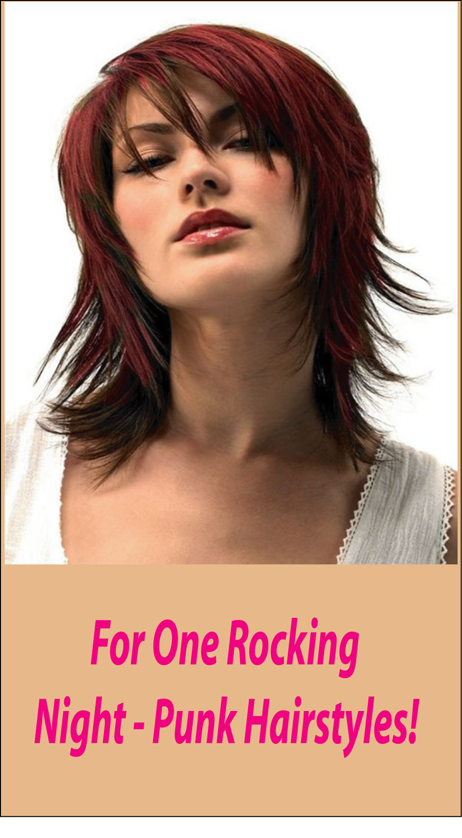 For One Rocking Night Only Punk Hairstyles For You
