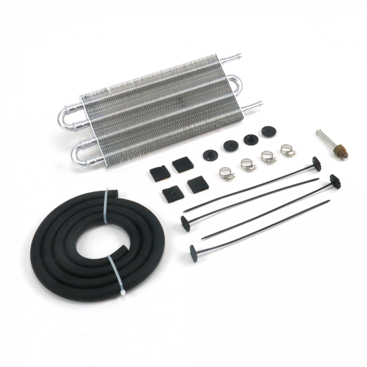 4 Row 13 Inch Oil Cooler Kit For Transmission Oil Fluids Kit