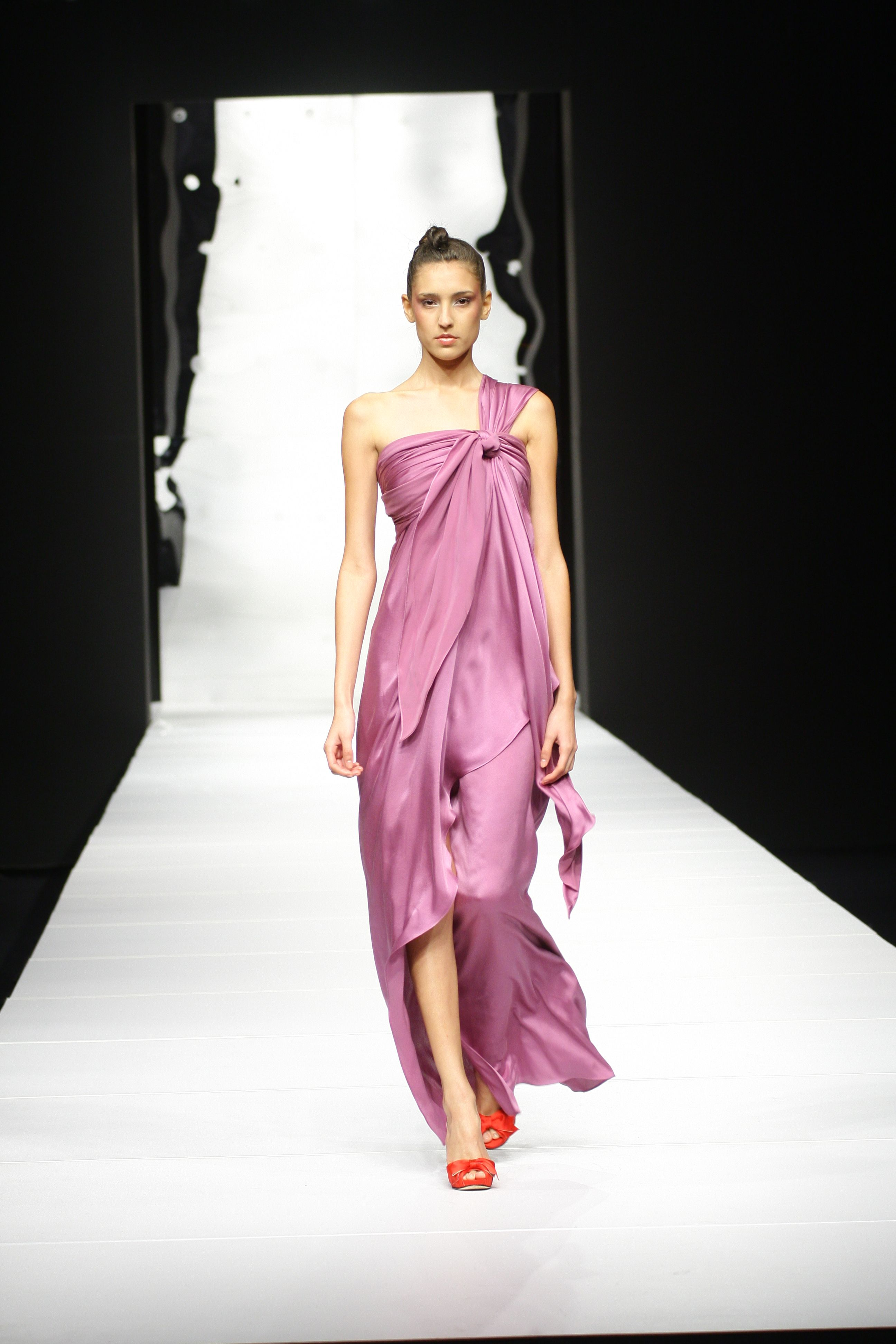 Roman toga style dresses