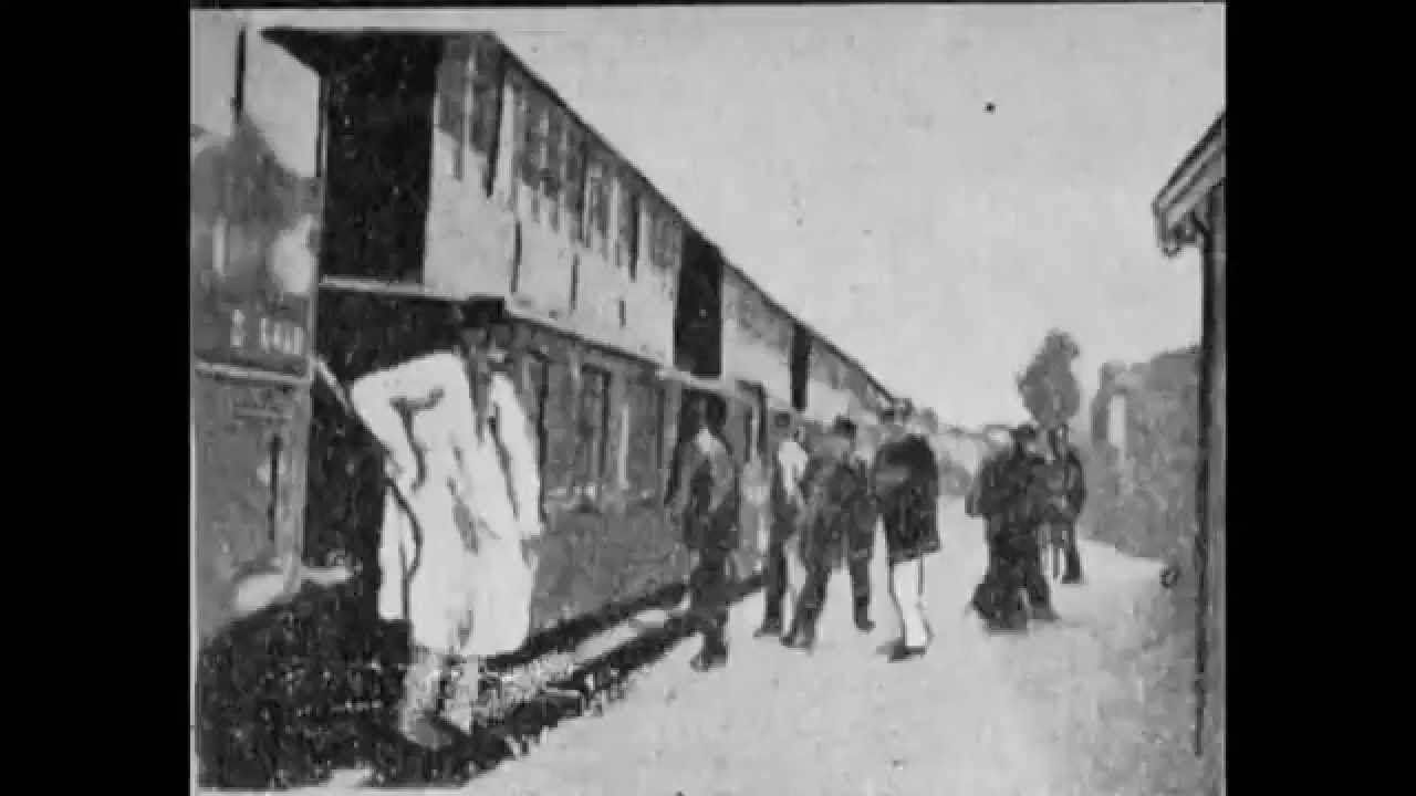 Georges Méliès Arrival of a Train at Vincennes Station (Arrivée d'un Tra...