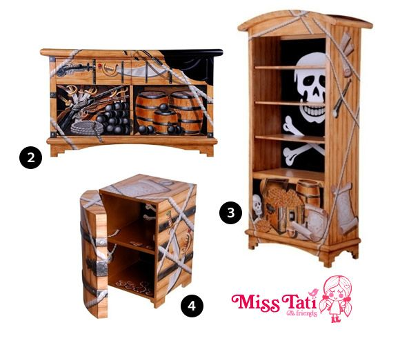 Nice Pirate Furniture