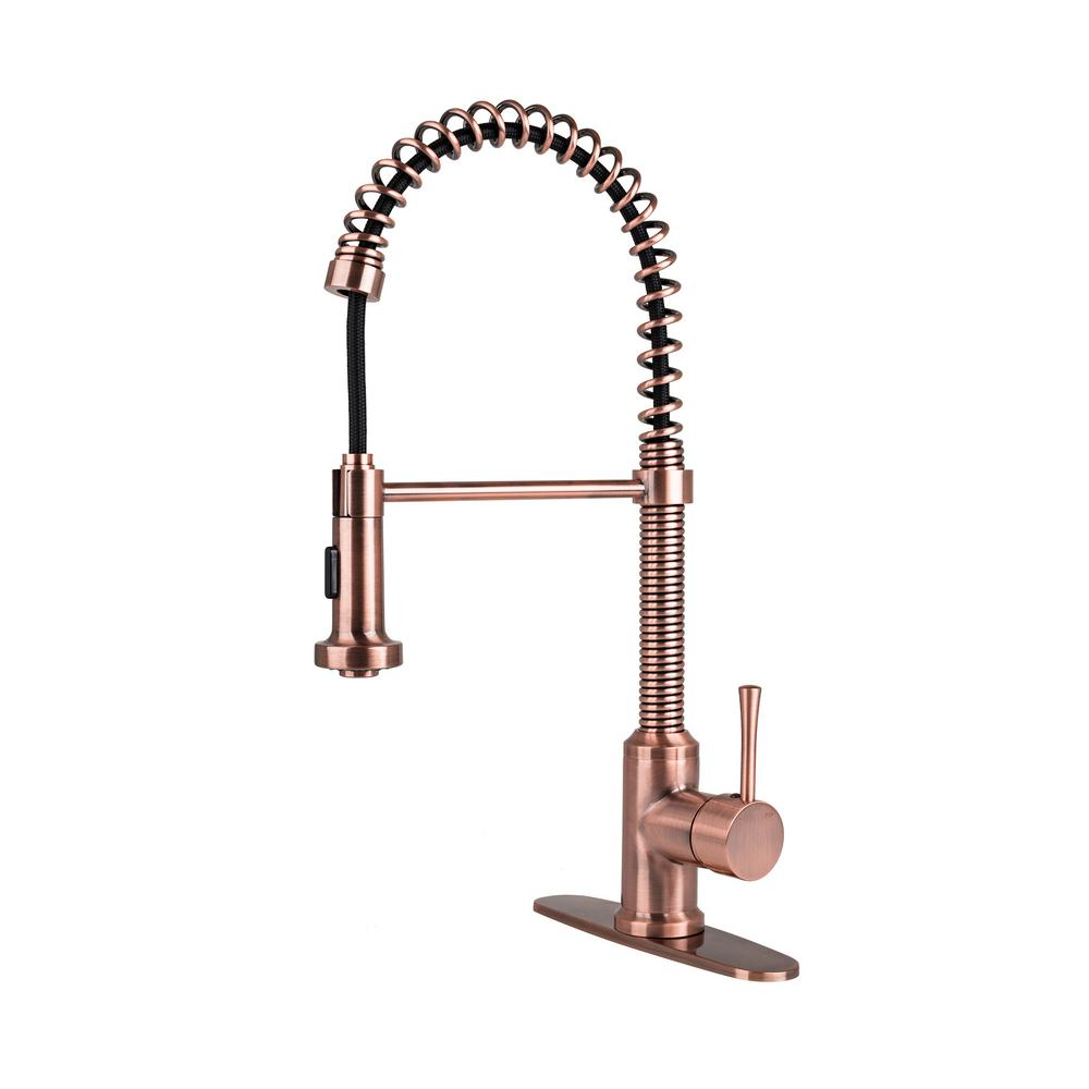 Fontaine By Italia Single Handle 1 Or 3 Hole Residential Pull Down