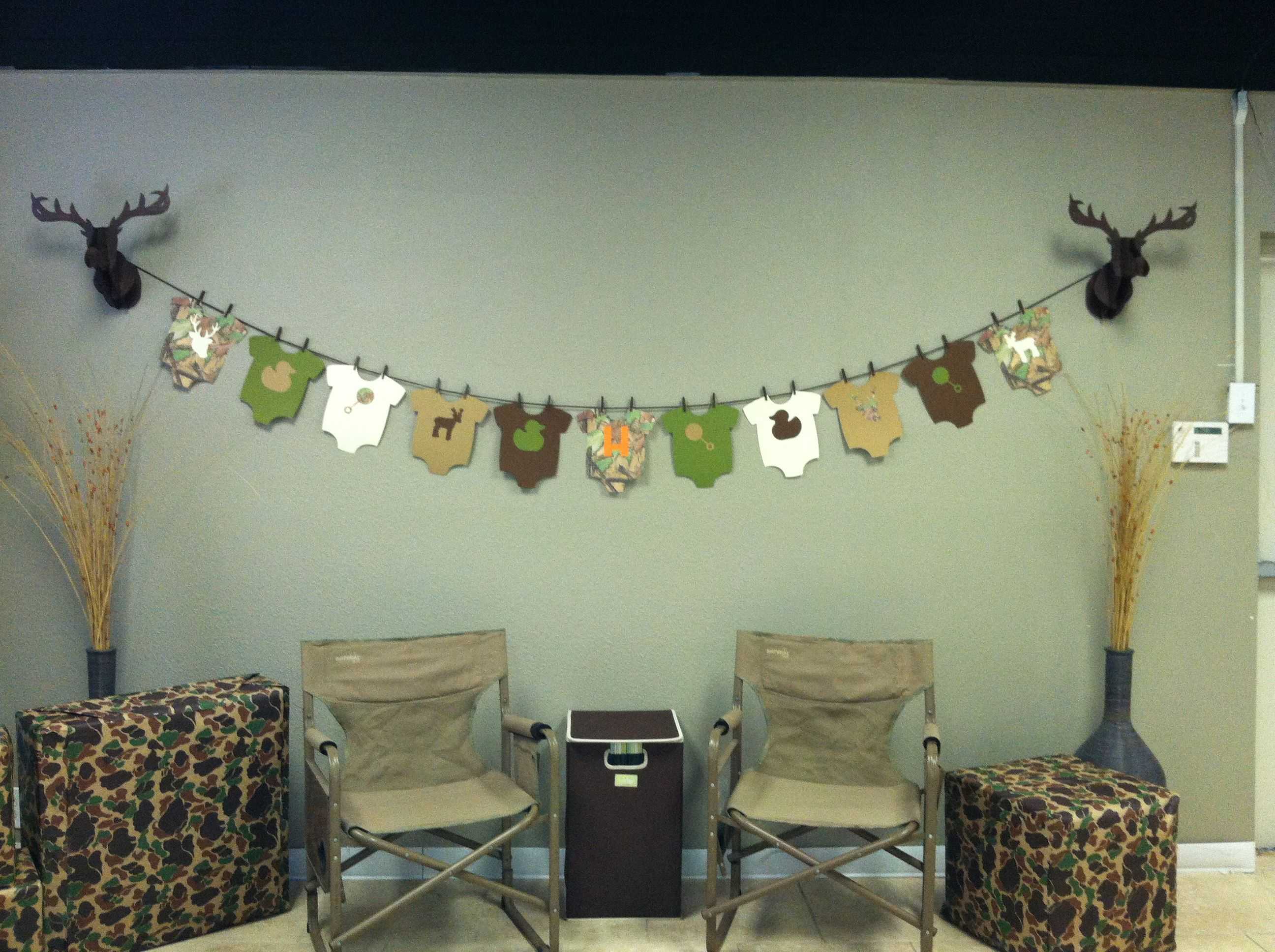 Good Camouflage Baby Shower