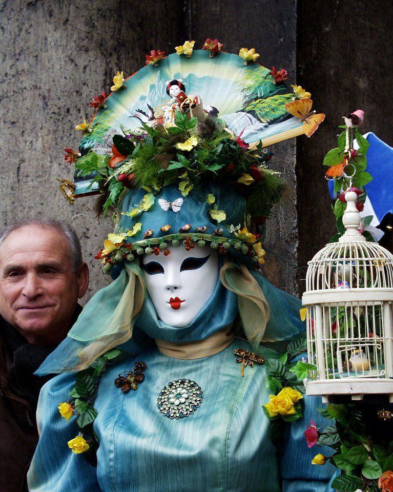 It is Carnival Time in Venice!