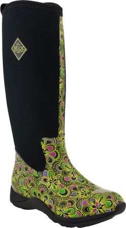 Muck Boots Arctic Adventure Print Green Flower Print Women's | My ...