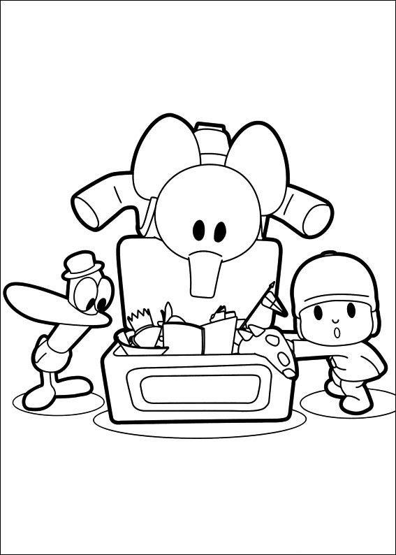 pocoyo 25 dibujos faciles para dibujar para niños