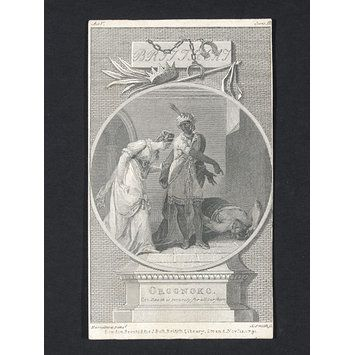 Print - Oroonoko: or the Royal Slave; Death is security for all our fears