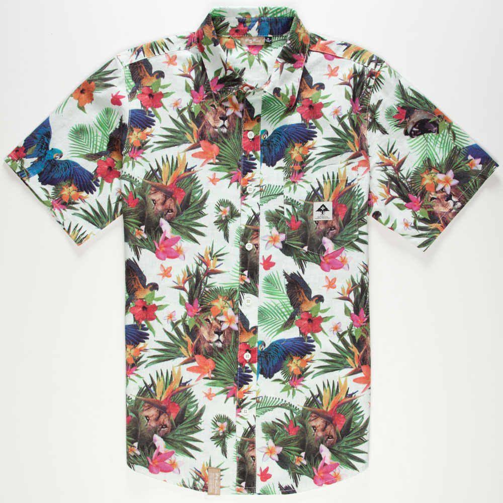 How to hawaiian a big wear shirt