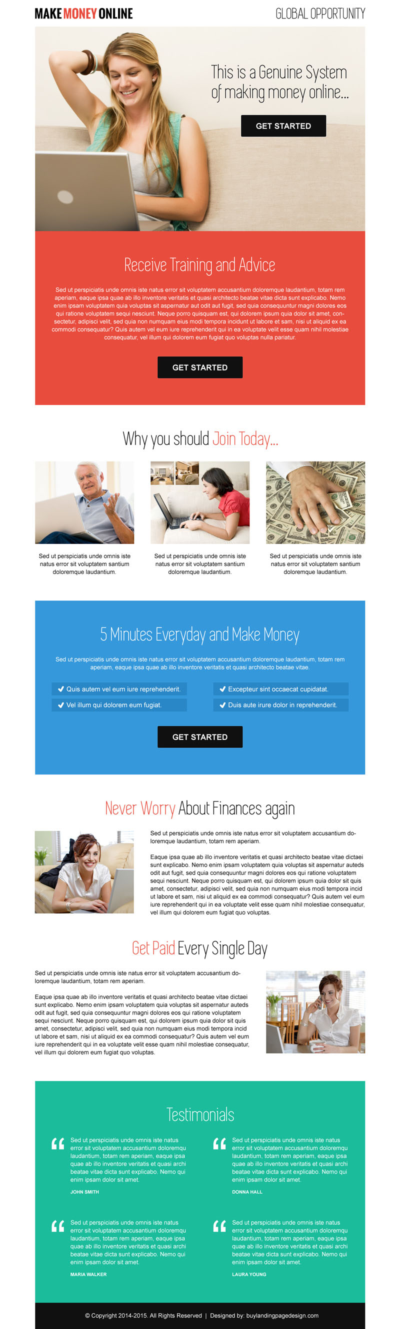 20 Flat Discount On Landing Page Design Templates Website