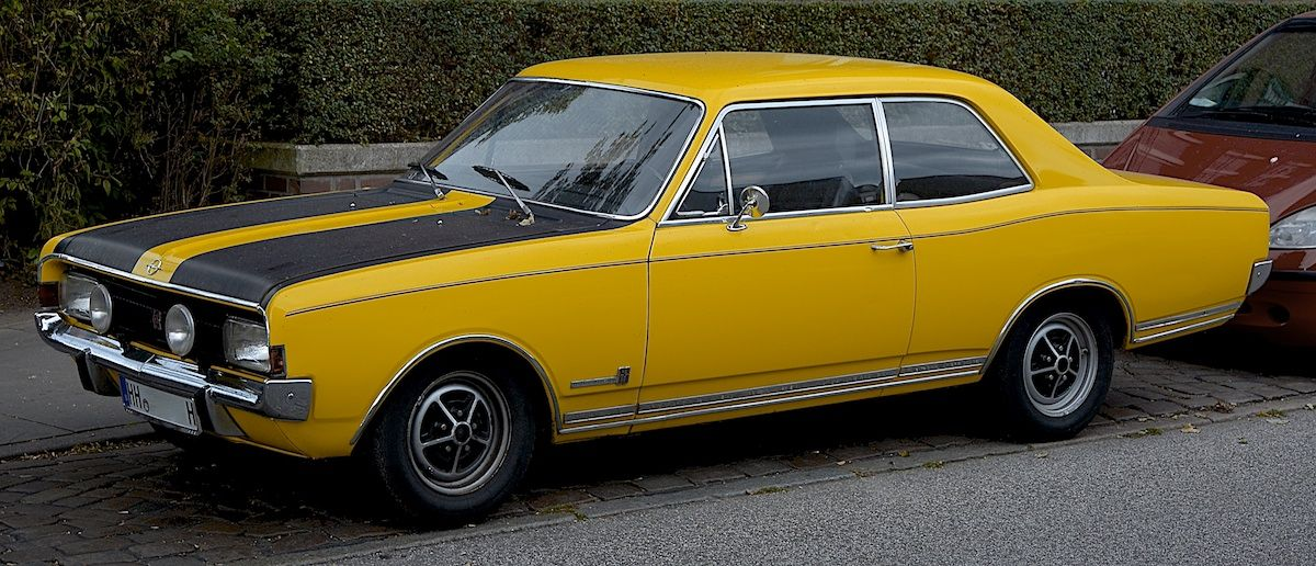 Opel Commodore Oldtimer Autos Fortbewegung