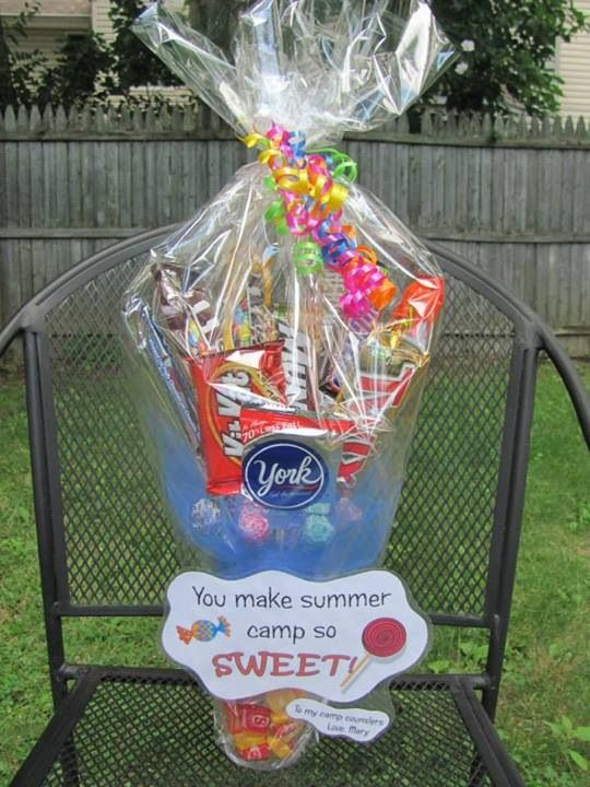 Counselor Appreciation Gift Camp Counselor Gifts Camping Gifts