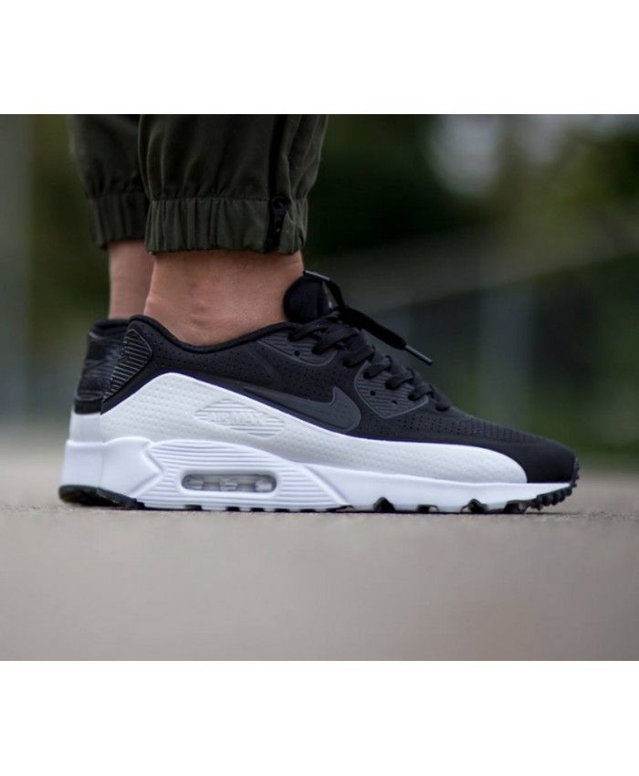 info for b5f52 56255 Nike Air Max 90 Ultra Moire White Black Cheap UK