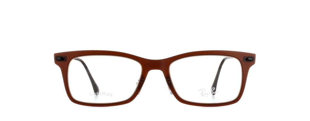 f99a148ce31 Ray-Ban Tech Light Ray RX7039 5450 in Dark Matte Brown