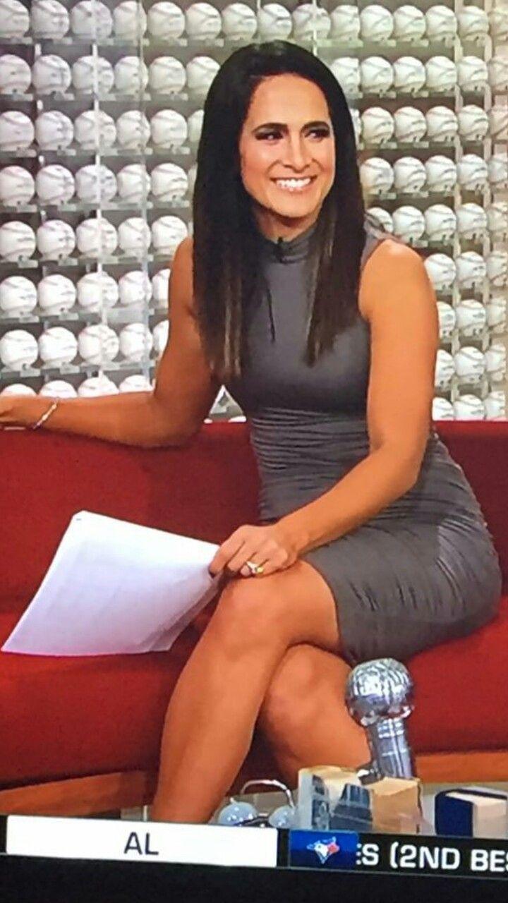 Hot Lauren Shehadi In Grey Dress Women Great Legs Lady