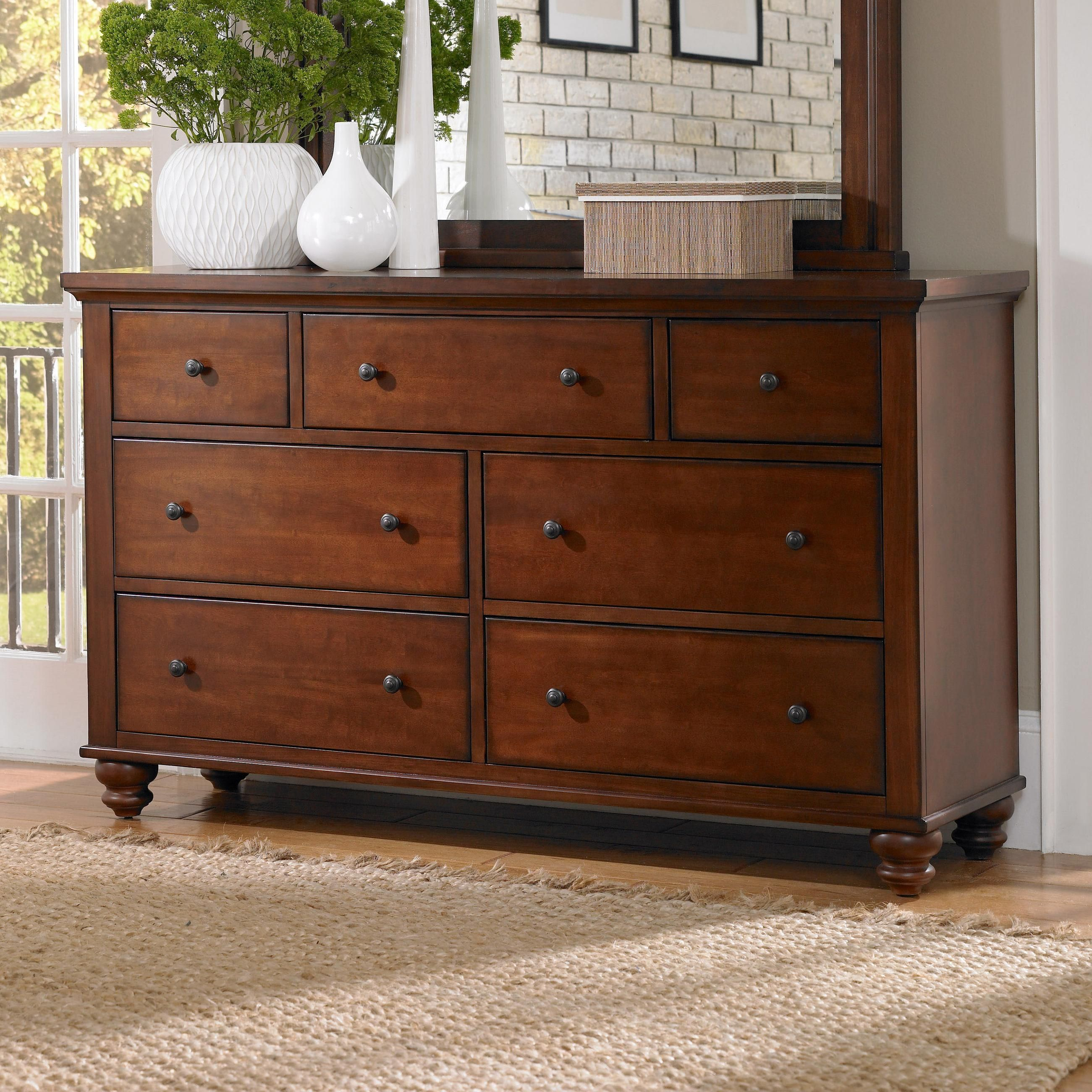 Cambridge 7-Drawer Double Dresser by Aspenhome