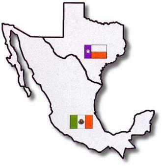 Texas Mexico Mexico Tattoo Map Tattoos