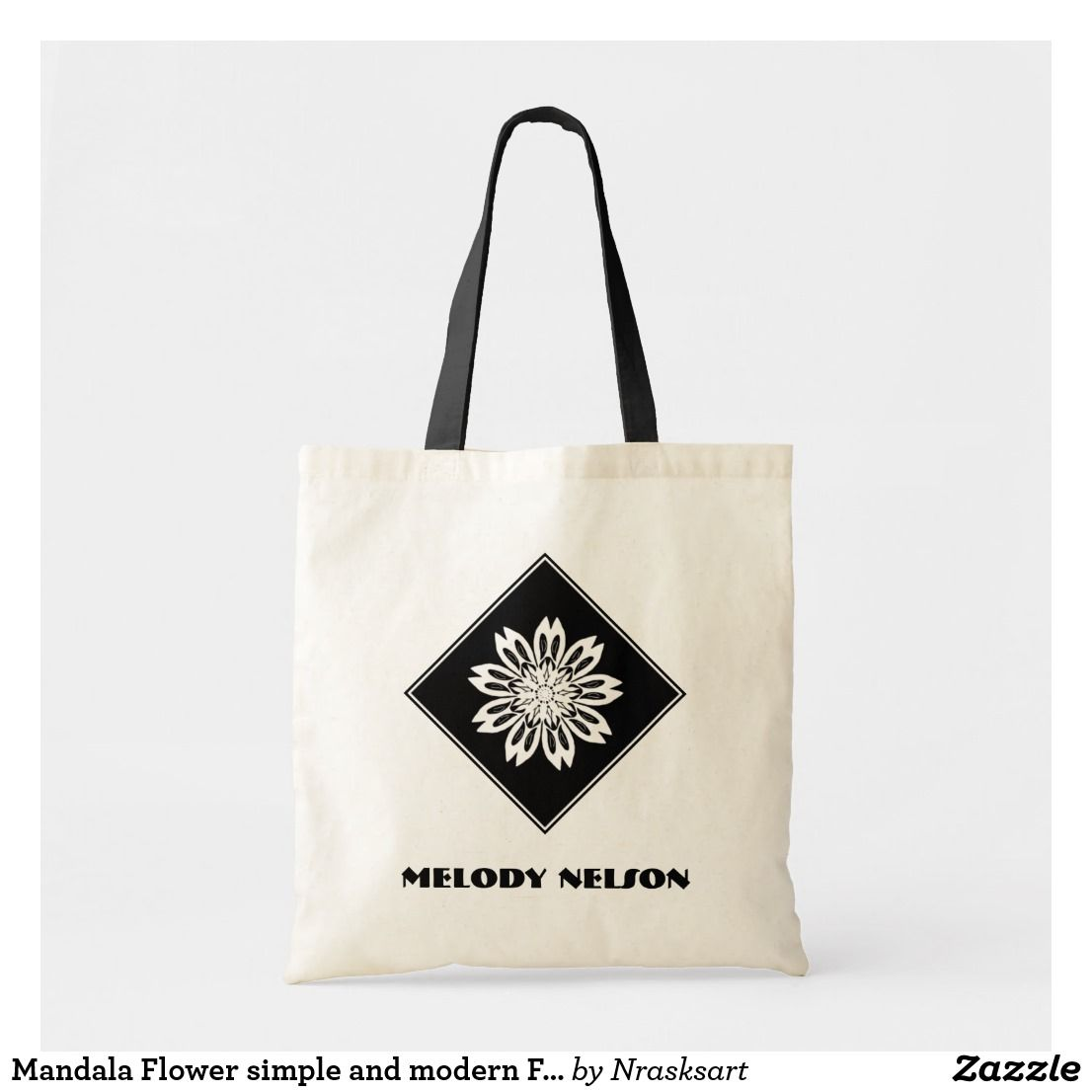 Peace Sign And Daisy Hippie Bohemian Love Tote Bag In 2019