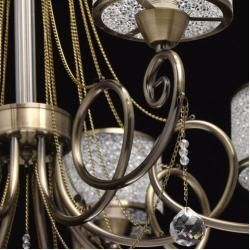 Photo of 8-light chandelier