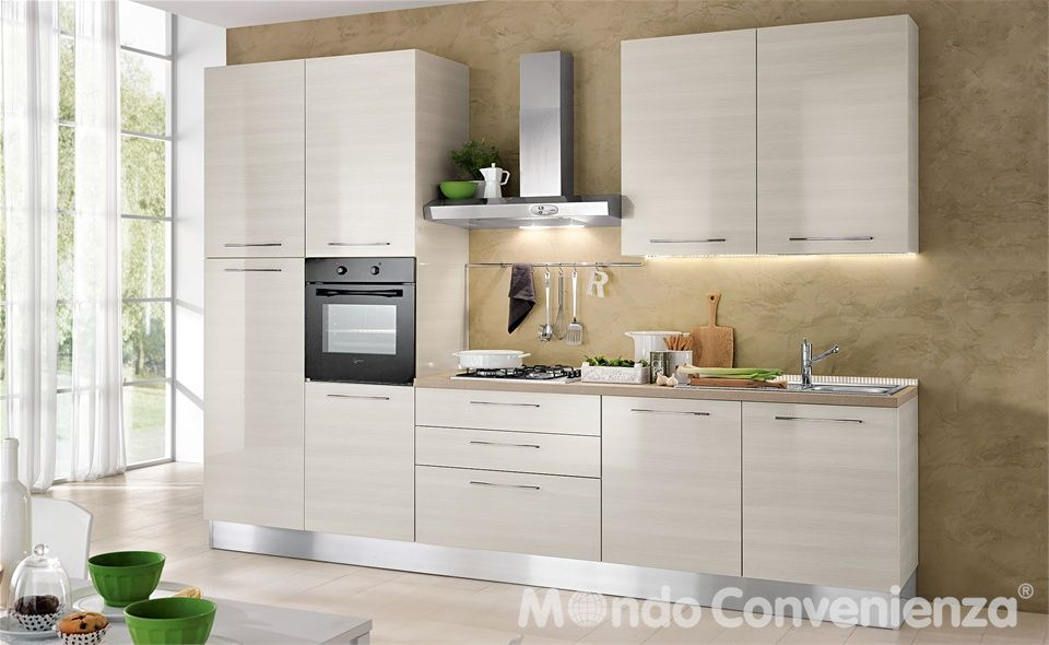 Cucina Seventy - Mondo Convenienza | Kitchen | Pinterest | Kitchens ...