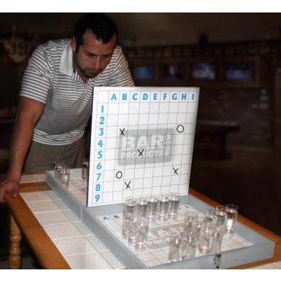 $74.95 BattleShotz Drinking Board Game
