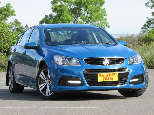 Discounted Used 2013 Holden Commodore Vf My14 Sv6 Blue 6 Speed