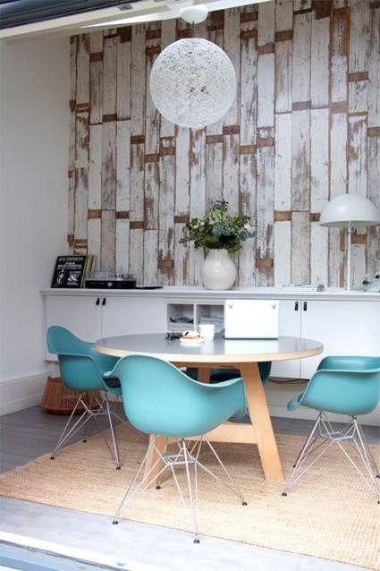 decora tus paredes con palets de madera - Decorar Paredes Con Madera