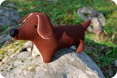 Homemade Weenie Dog Toy Art Projects Dog Toys Toys Toy Craft