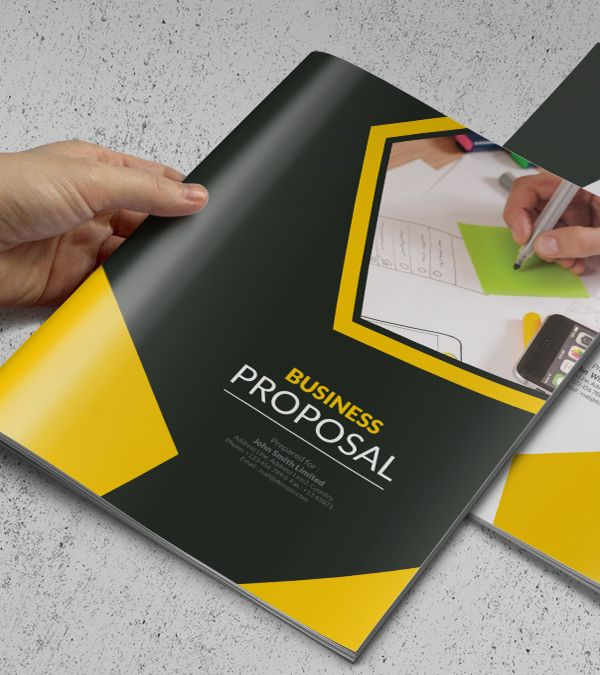 Free Business Brochure Photoshop PSD Templates Free - Brochure photoshop template