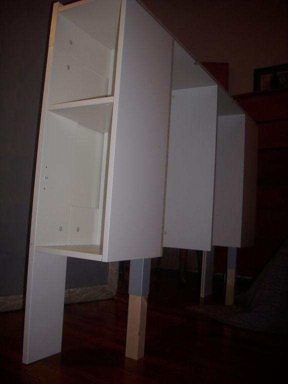 Free Standing Brimnes Headboard For Renters Ikea Hackers