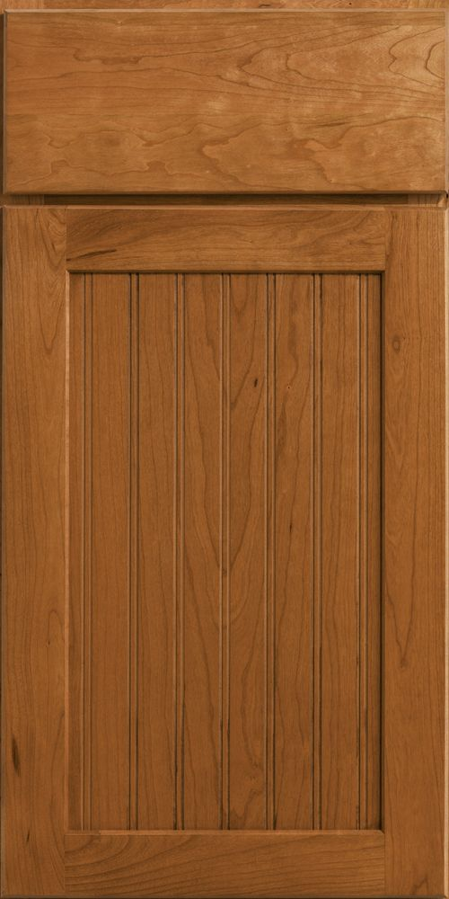 Merillat Classic Avenue door style with slab-style drawer ...