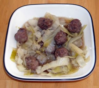 My HCG Cooking Blog - Favorite recipes and discoveries on my HCG weightloss journey: P2 Cabbage Meatball Soup