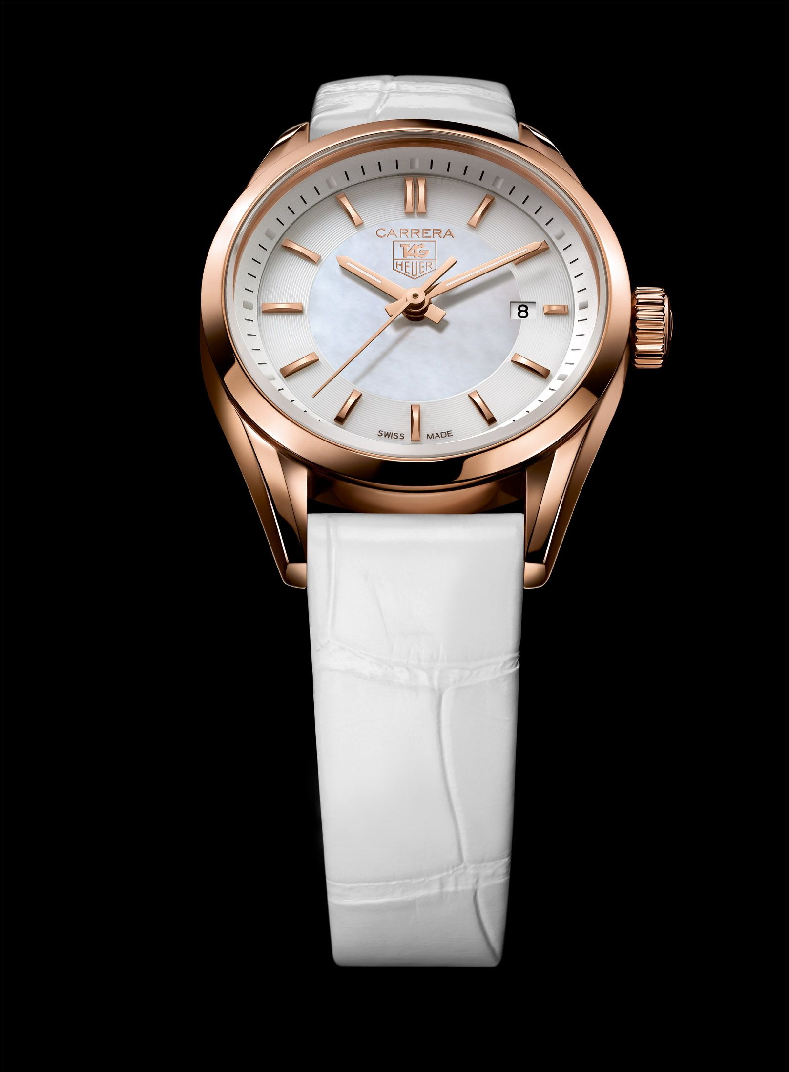 Carrera Lady Rose Gold Tag Heuer Tag Heuer Women Luxury Watches For Men