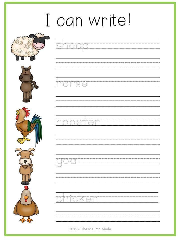 farm animals math literacy printables activities best of kindergarten math literacy. Black Bedroom Furniture Sets. Home Design Ideas