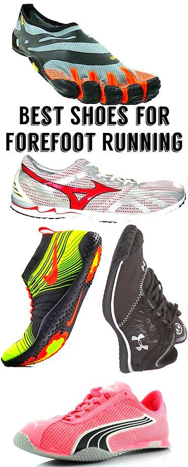 perfect forefoot running shoe