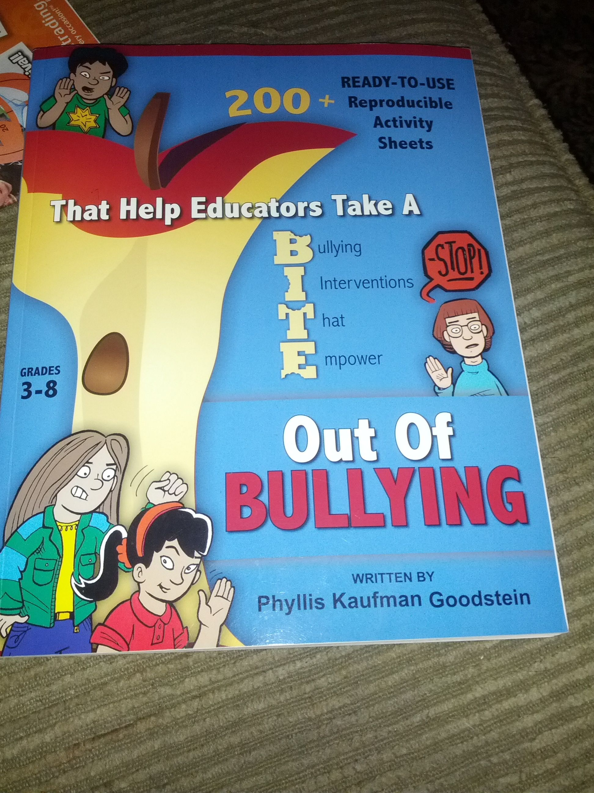 Great Anti Bullying Book With Reproducible Activity Sheets