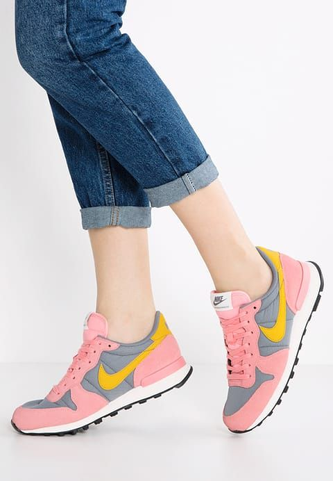 top fashion 4a0c2 2b541 Nike Sportswear INTERNATIONALIST - Sneakers - cool grey gold dart bright  melon sail black - Zalando.dk