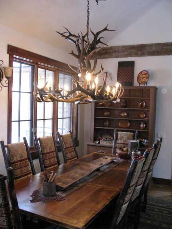 37 Warm Cozy Rustic Dining Room Designs